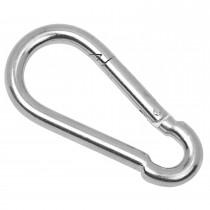 005 F :: Snap Hook, M10, Bright Zinc