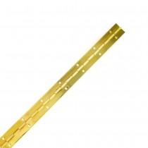 --- :: Piano Hinge, 1800mm x 32mm, Brass